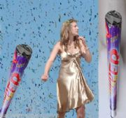 2 X 780MM POPPER WEDDING PARTY CONFETTI CANNON EJECTS TO 10M      # 1620